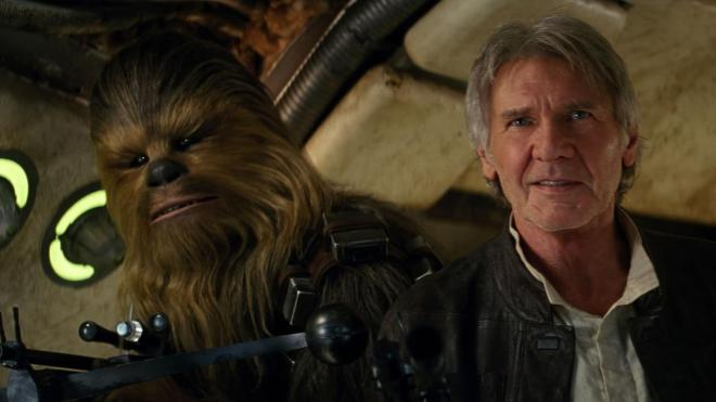 hand and chewie