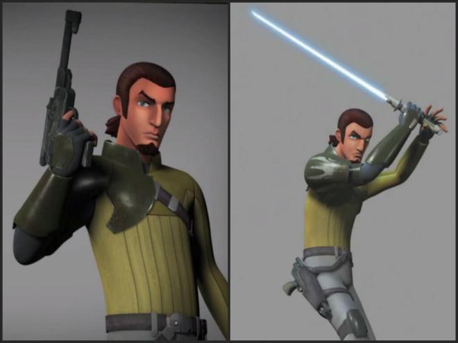 Kanan from Star Wars Rebels