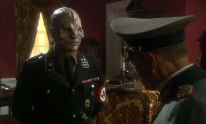 That's right...Nazi aliens!