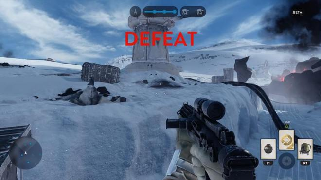 battlefront defeat