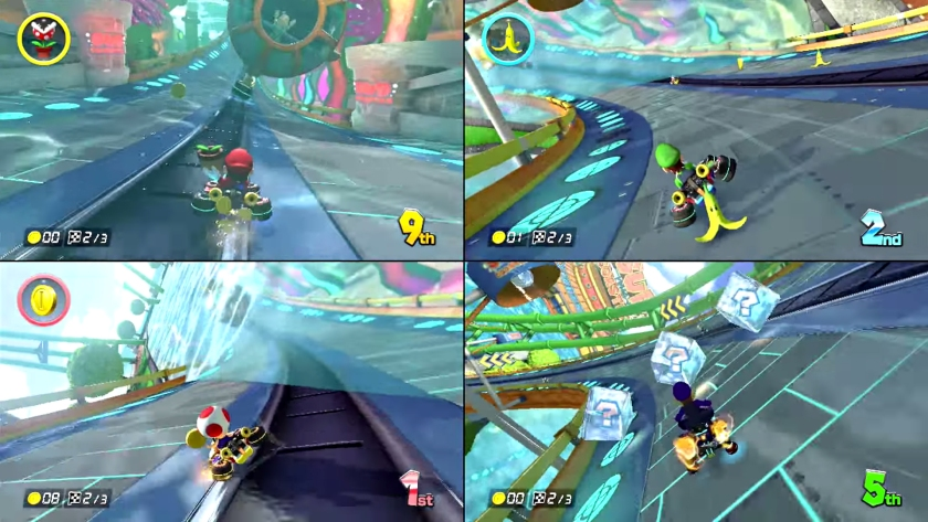 mario kart 8 multiplayer
