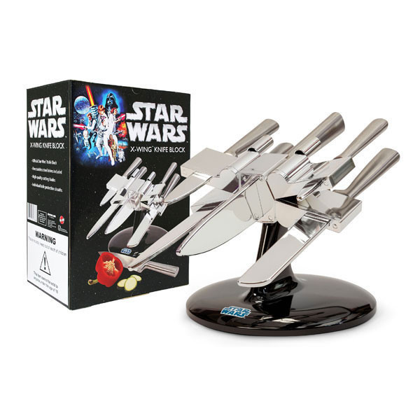 x wing knife block