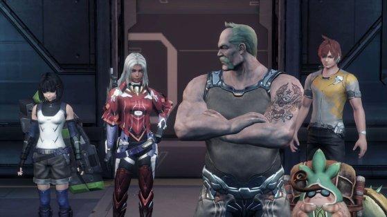xenobalde characters